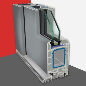 Dverový systém Gealan S 8000 IQ
